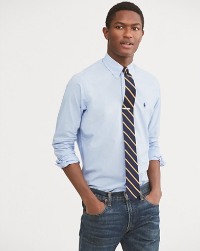 Classic Fit Checked Shirt