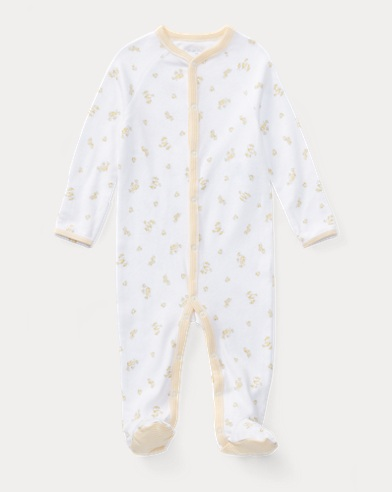 Duck-Print Cotton Coverall