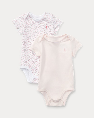 Lot de 2 bodies bébé en coton