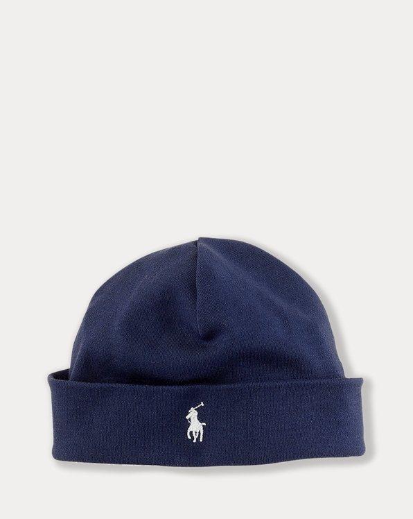 Cappello in interlock di cotone