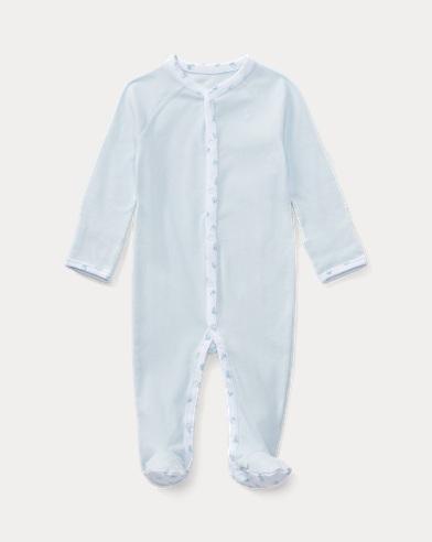 Grenouillère bébé coton uni
