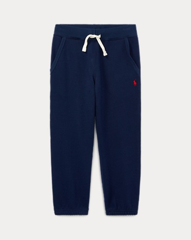 Cotton-Blend-Fleece Trouser