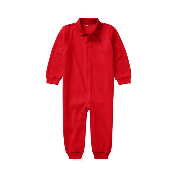 폴로 랄프로렌 Polo Ralph Lauren Soft Cotton Polo Coverall,RL Red