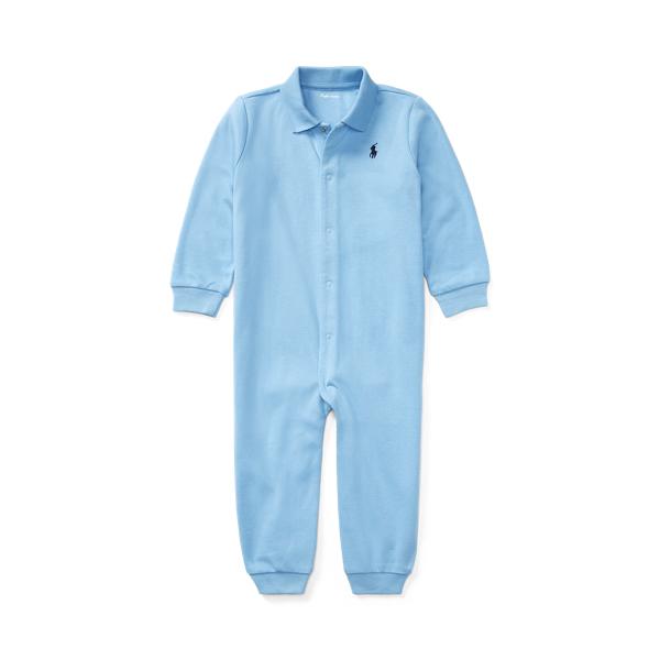 폴로 랄프로렌 Polo Ralph Lauren Soft Cotton Polo Coverall,Suffield Blue