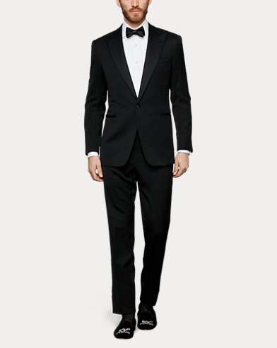 Handmade Peak-Lapel Tuxedo