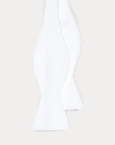 Pajarita de piqué de algodón