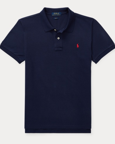 Polo in cotoneCustom-Fit