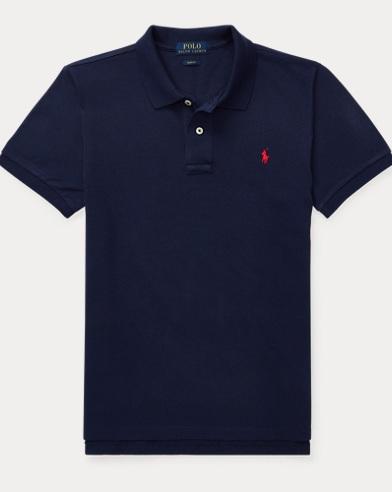 Custom-Fit Baumwoll-Polohemd