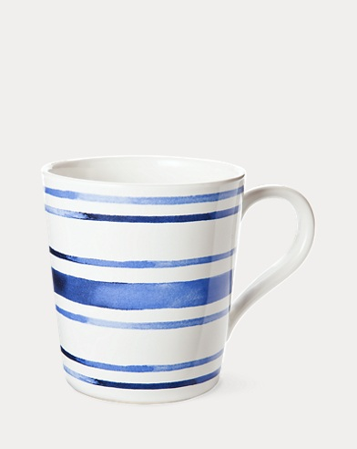 Cote d'Azur Striped Mug