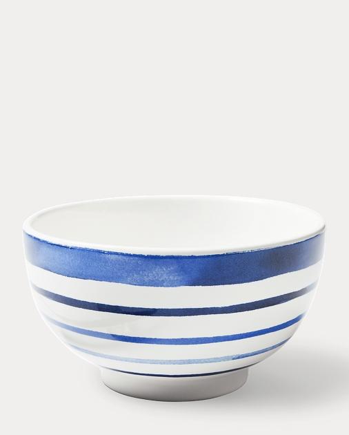 Côte d'Azur Stripe Cereal Bowl