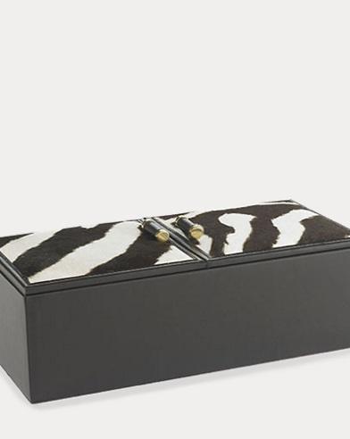 Chatwin Zebra-Printed Box