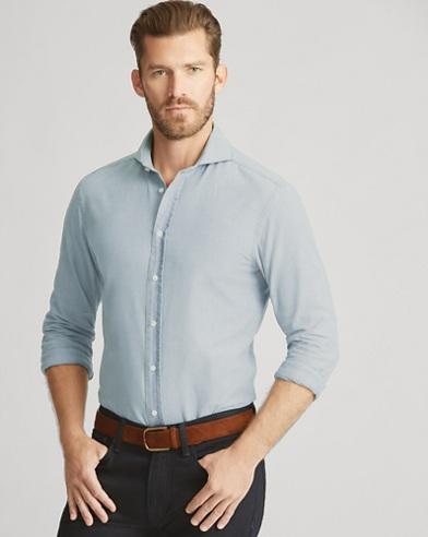 Keaton Tailored Chambray Shirt