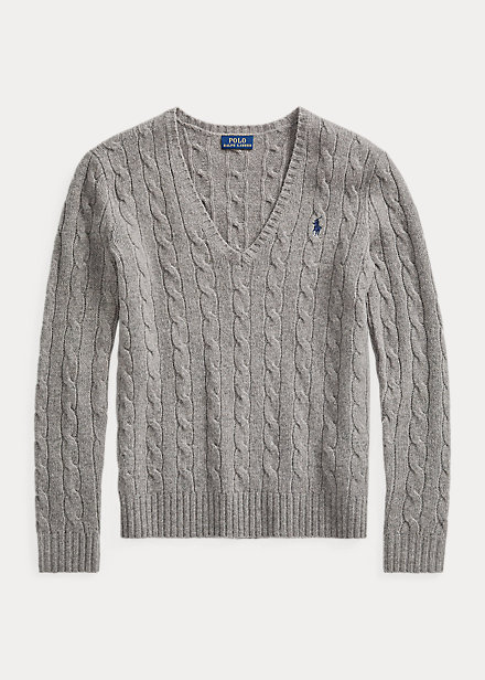 Polo Ralph Lauren Cable Wool-Cashmere Sweater