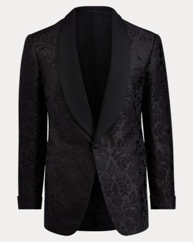 Handmade Silk Tuxedo Jacket