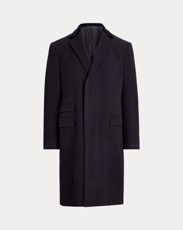 Cashmere Twill Topcoat