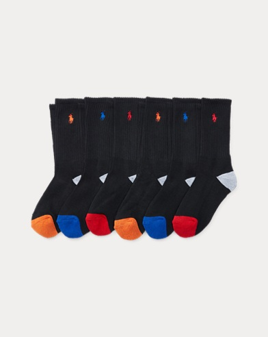 Athletic Crew Sock 6-Pack