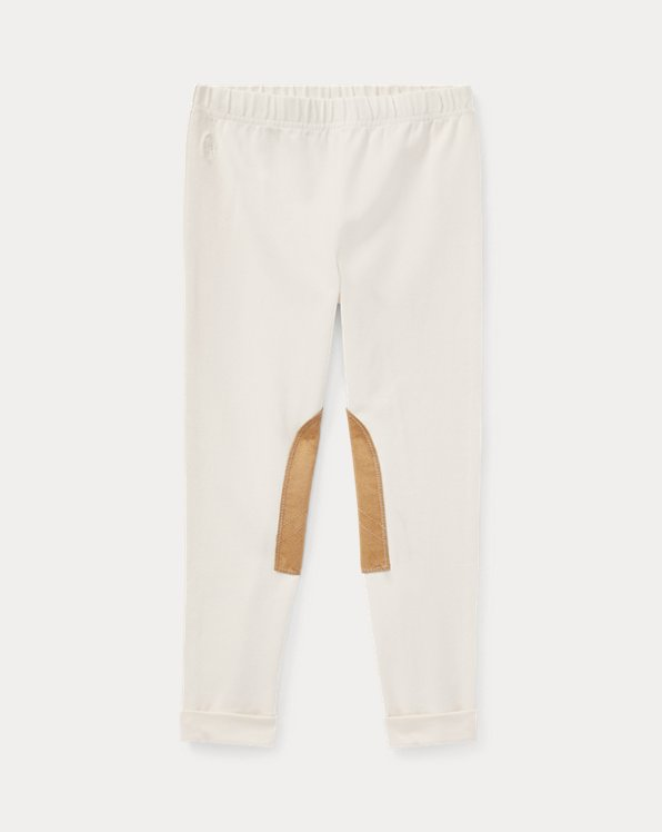 폴로 랄프로렌 여아용 레깅스 Polo Ralph Lauren Jodhpur Legging,Essex Cream