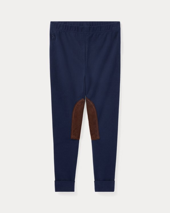 폴로 랄프로렌 여아용 레깅스 Polo Ralph Lauren Jodhpur Legging,French Navy
