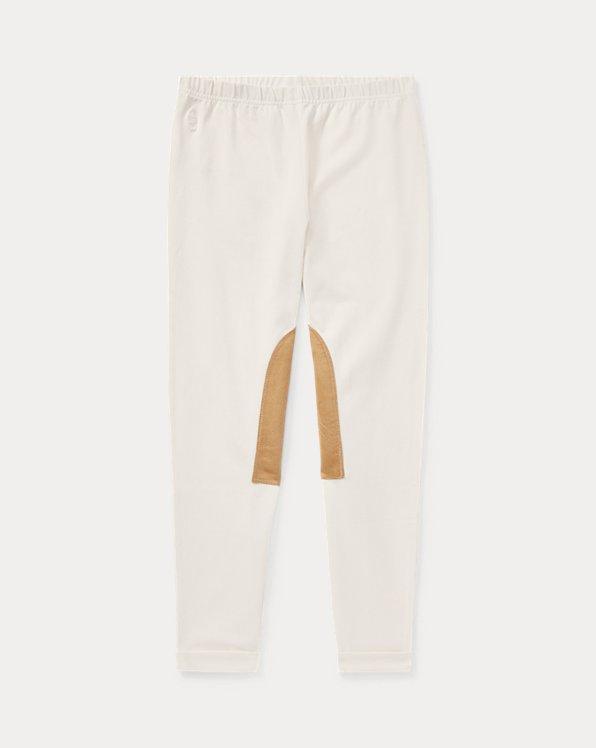 폴로 랄프로렌 걸즈 레깅스 Polo Ralph Lauren Jodhpur Legging,Essex Cream