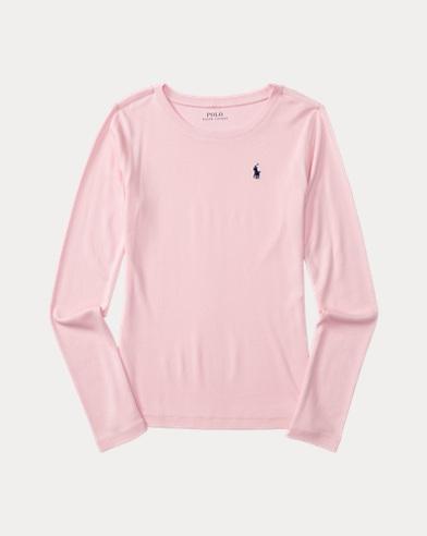 Langärmliges T-Shirt aus Baumwolle