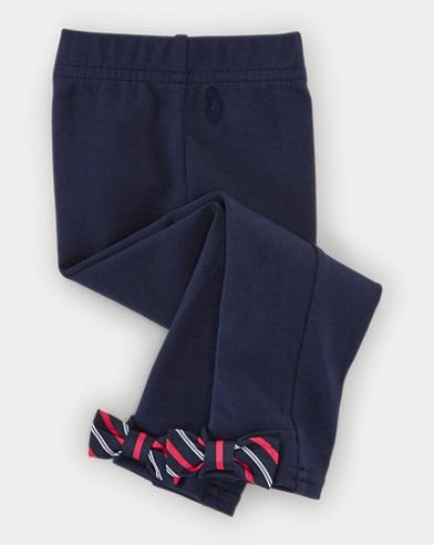 Leggings con fiocchi sul retro
