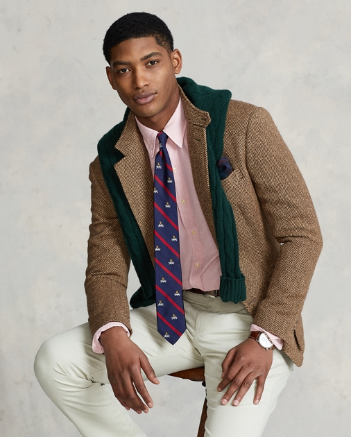 663fbaad Slim Fit Stretch Oxford Shirt | Slim Fit Casual Shirts | Ralph Lauren