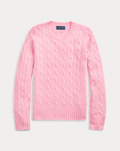 Cable-Knit Cashmere Jumper