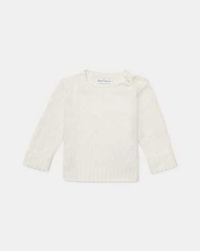 Cable Knit Cashmere Jumper
