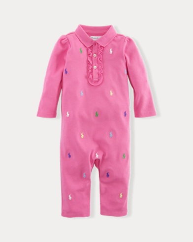 Pony Cotton Coverall