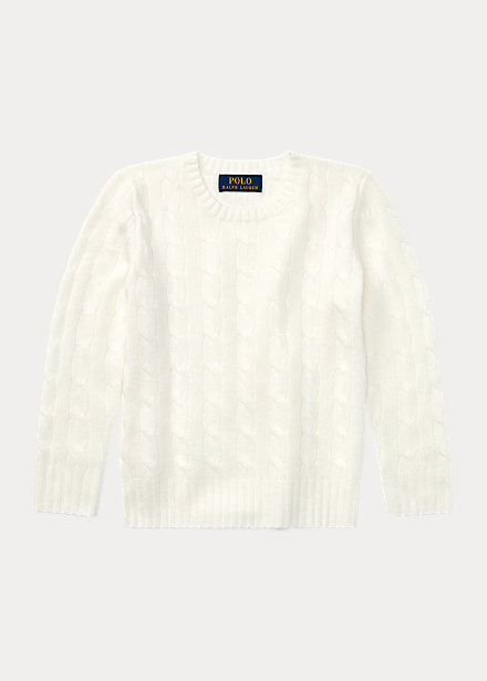Polo Ralph Lauren Cable Knit Cashmere Sweater