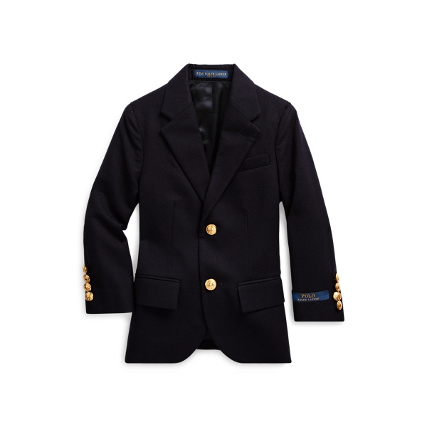 폴로 랄프로렌 남아용 코트 Polo Ralph Lauren Wool Brass-Button Sport Coat,Navy