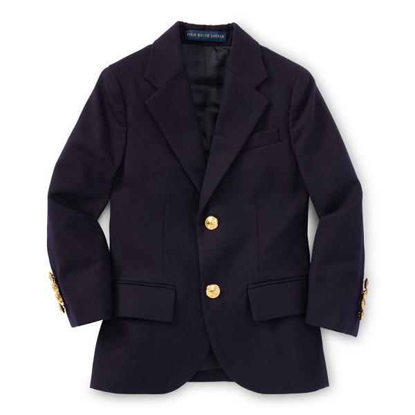 Polo Ralph Lauren Wool Brass-Button Sport Coat
