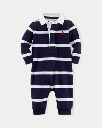 Striped Cotton Coverall