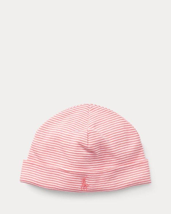 Striped Cotton Hat