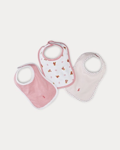 Interlock-Girl Bib