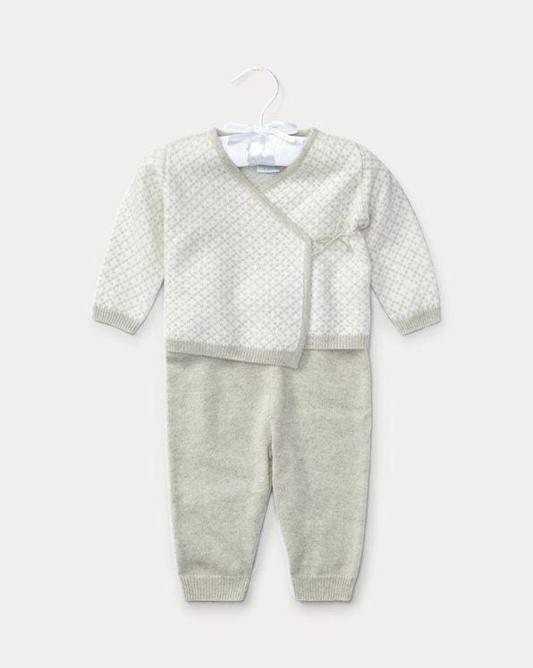 Cashmere Top & Pant Set