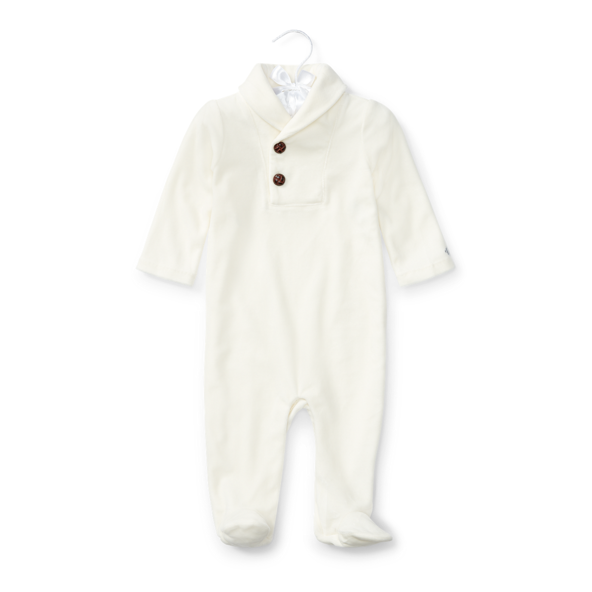 d1d271189 Velour Footed Coverall