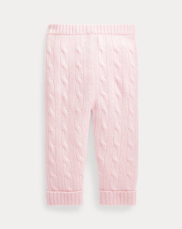 Cable-Knit Cashmere Pant