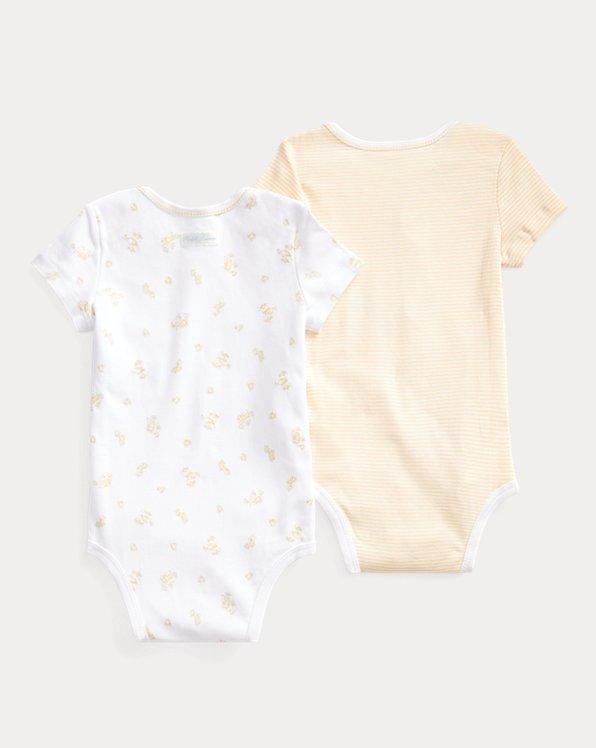 Cotton Bodysuit 2-Piece Set