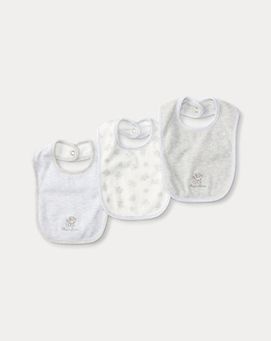 Cotton Bib 3-Piece Set
