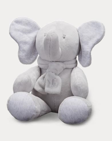 Mittelgroßer Plüsch-Elefant