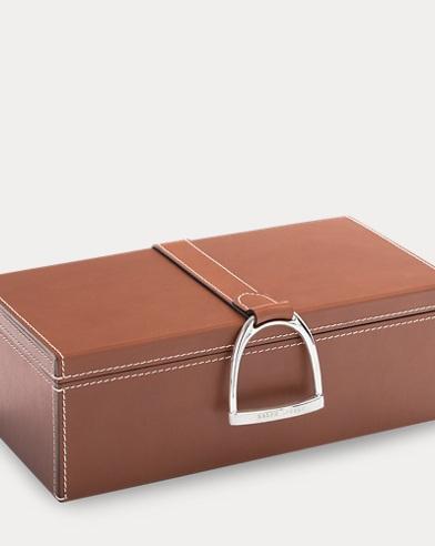 Derbyshire Leather Box