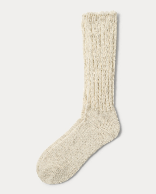 e1692bc15d Cotton-Blend Ragg Crew Socks | Socks & Tights Shoes, Handbags ...