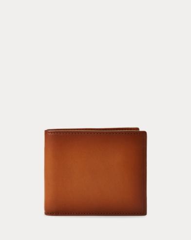 Hand-Burnished Vachetta Wallet