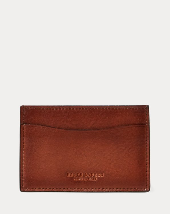 Burnished Vachetta Card Case