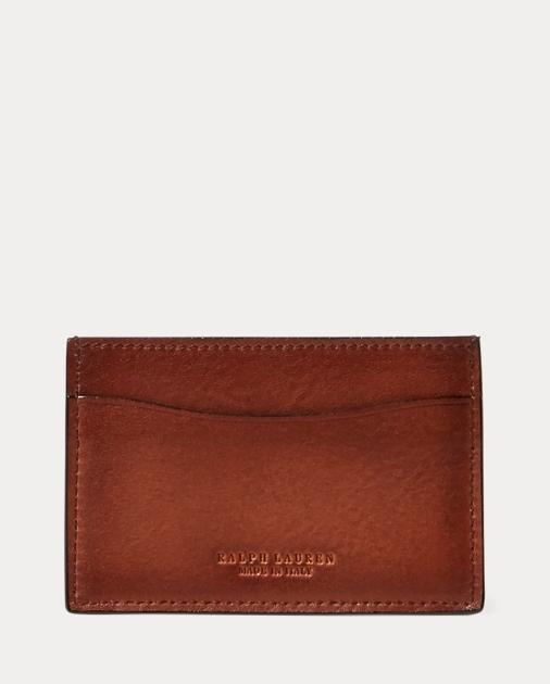 Ralph Lauren Burnished Vachetta Card Case 1