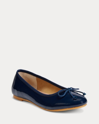 Nellie Patent Leather Flat
