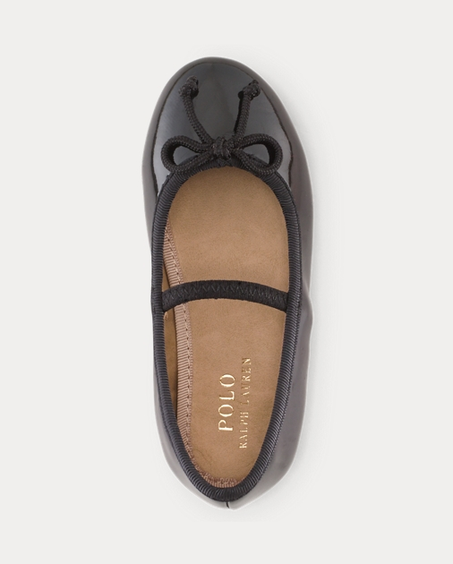 Toddler Nellie Leather Ballet Flat 3