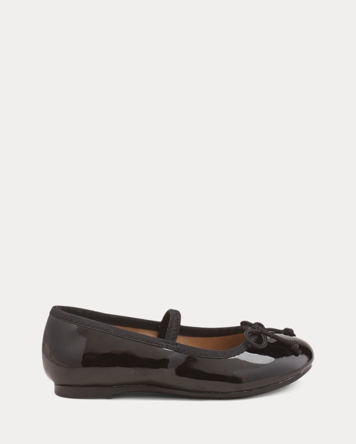 Toddler Nellie Leather Ballet Flat 1