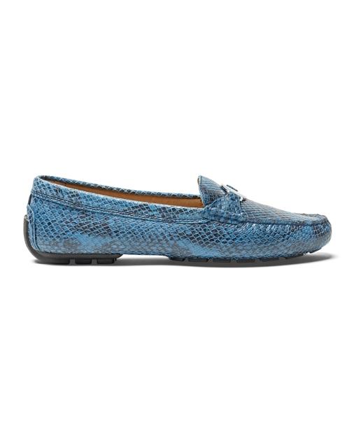 bb7af48f468 Lauren Carley Python-Embossed Loafer 3